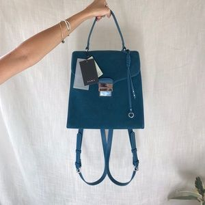 Zara suede backpack